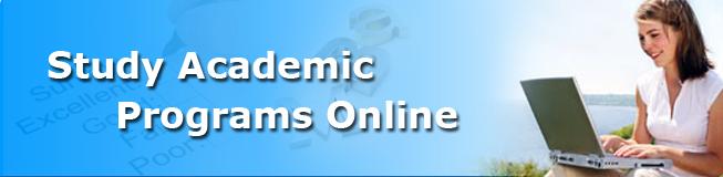 Study Academic Programs Online