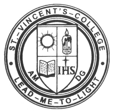 St. Vincent's College of Commerce logo