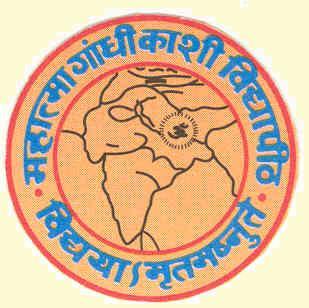 Mahatma Gandhi Kashi Vidyapeeth logo
