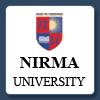 Nirma University of Science & Technology  logo