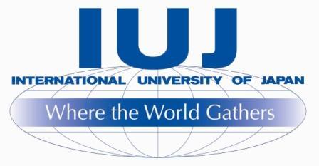 International University of Japan logo